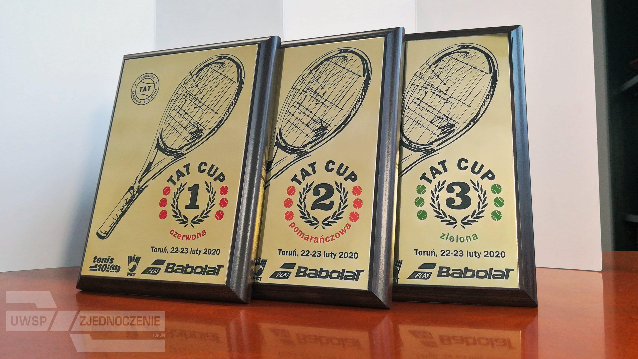 TAT CUP 2020 - trofea - UWSP ZJEDNOCZENIE Toruń