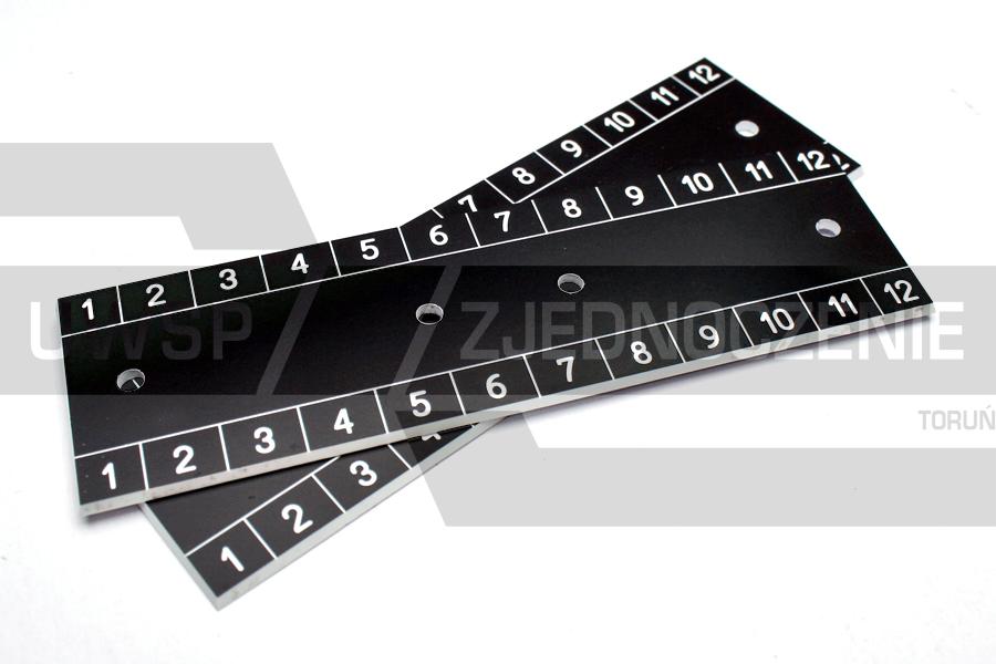 Tabliczka znamionowa PCV - grawerowana - UWSP ZJEDNOCZENIE Toruń